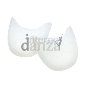 Puntalini in silicone bianco con FORI traspiranti